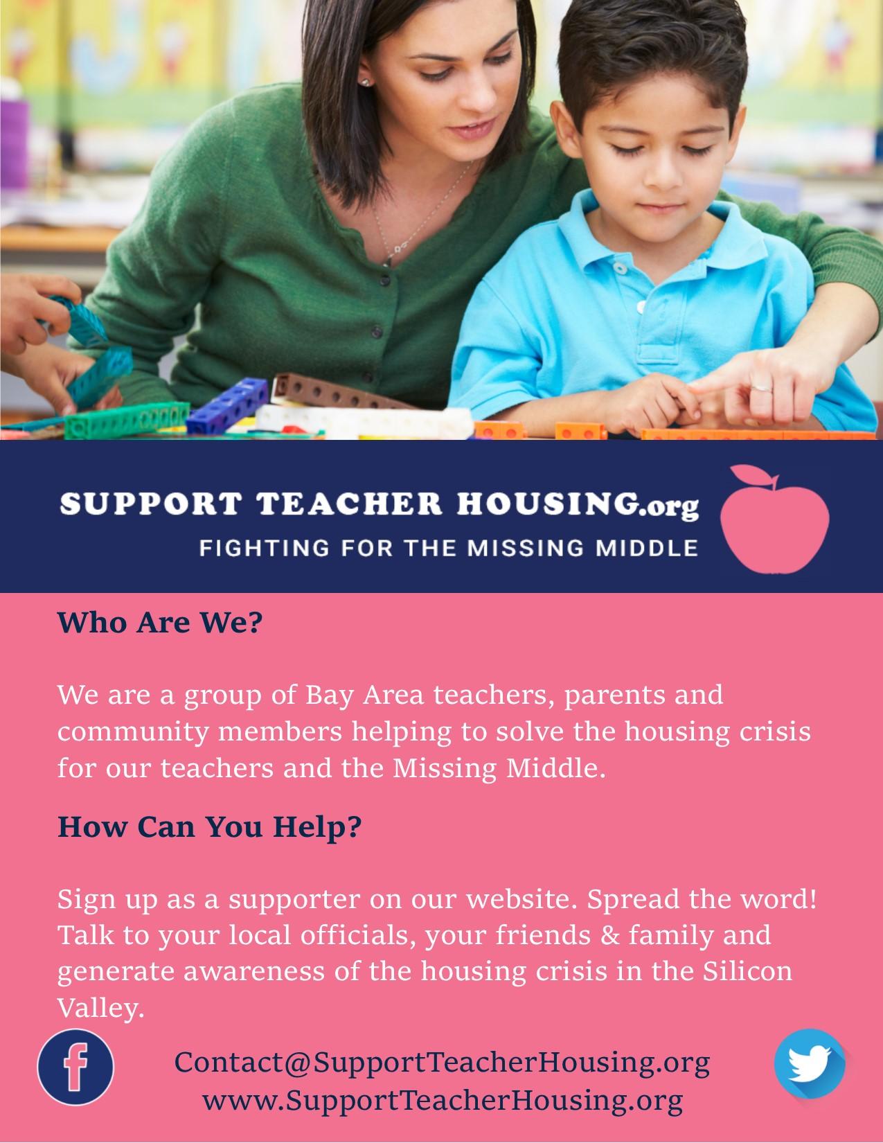 informational flyer revised support teacher housing